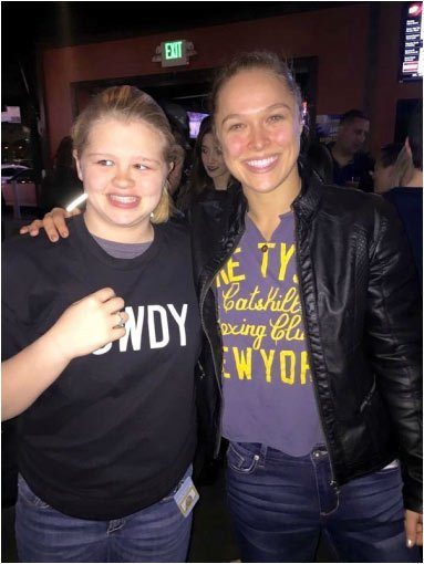Ronda Rousey is Freaking Amazing
