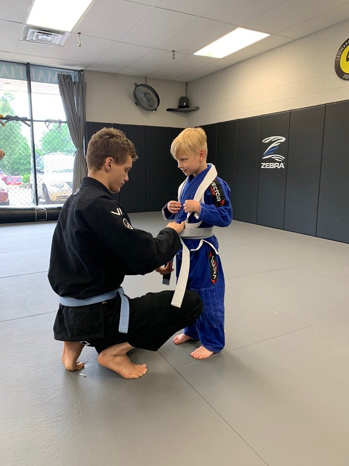 charlie evan grey belt promotion